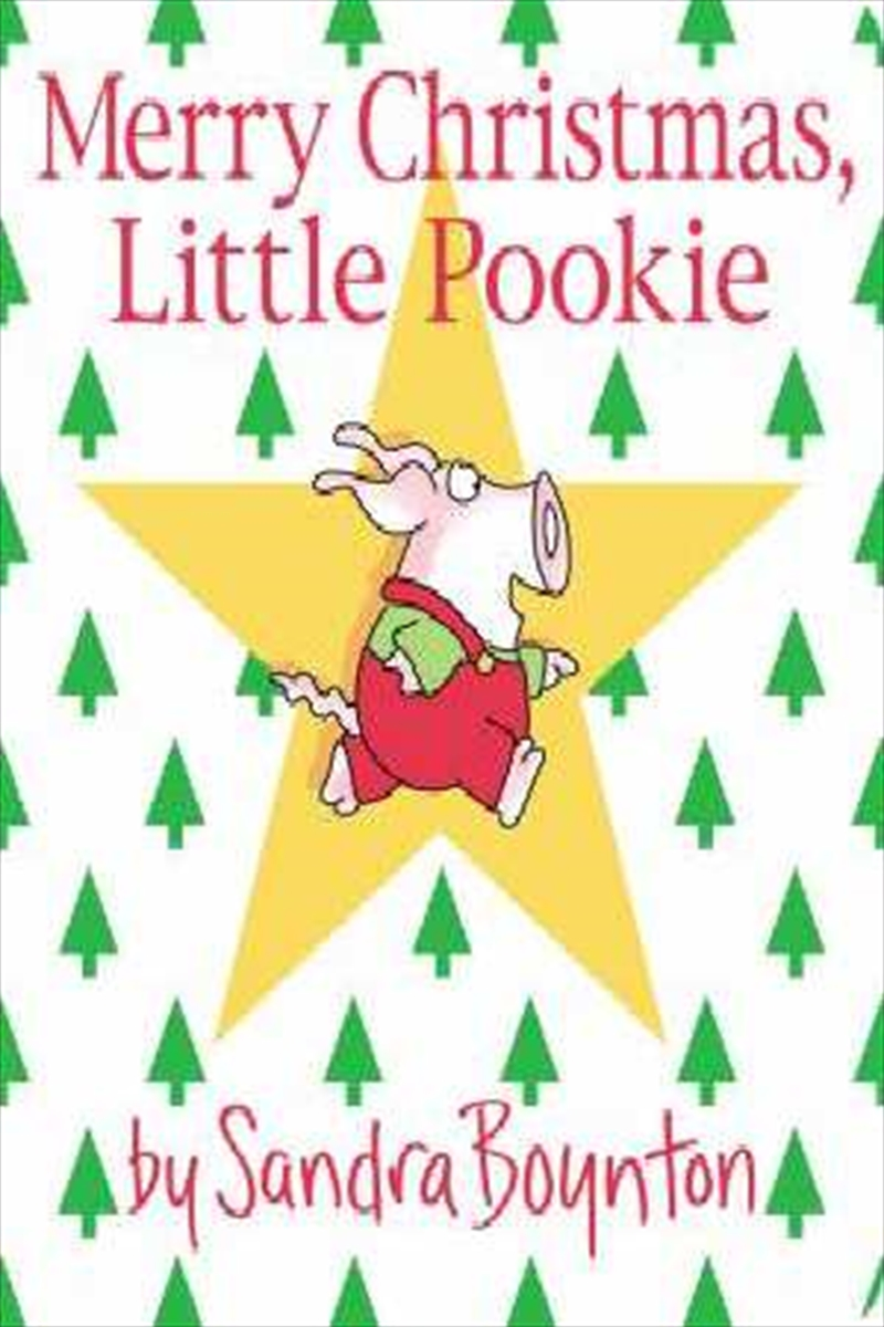 Merry Christmas Little Pookie | Board Book