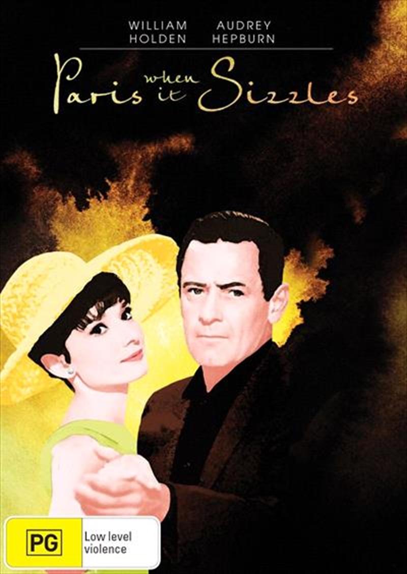 Paris When It Sizzles | DVD