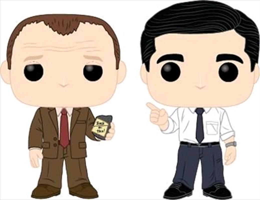 The Office - Toby vs Michael Pop! Vinyl 2-pack | Pop Vinyl