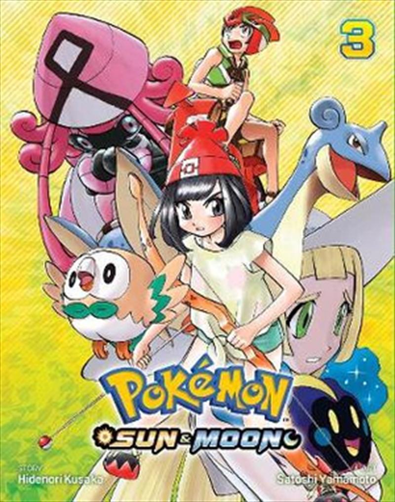Pokemon: Sun And Moon Vol 3   Paperback Book