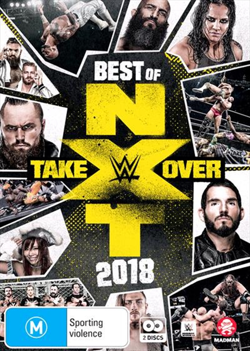 WWE - Best Of NXT Takeover 2018 | DVD