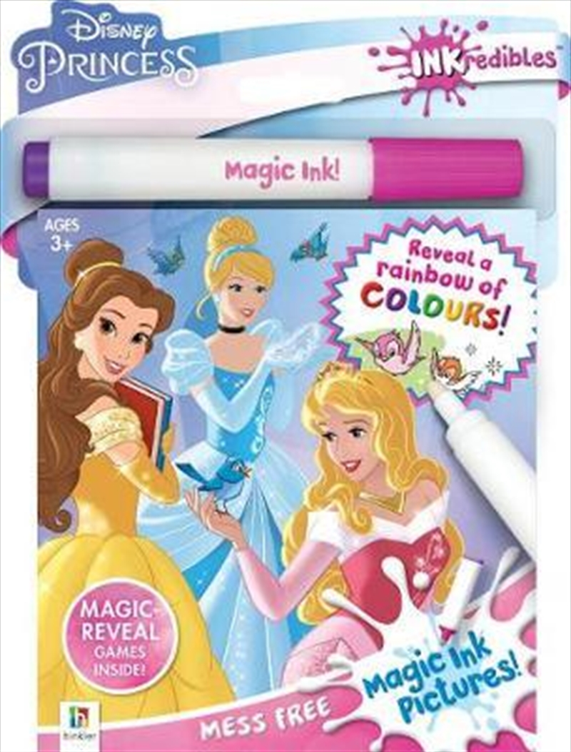 Inkredibles Magic Ink: Princess | Paperback Book