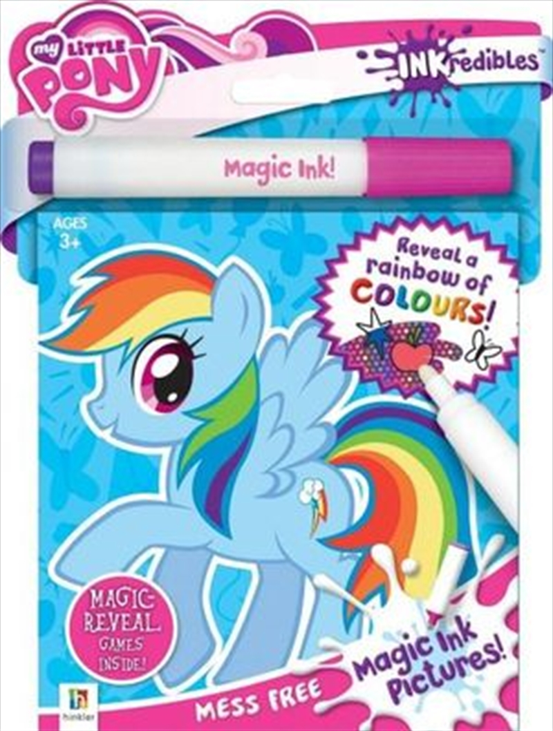 Inkredibles Magic Ink My Little Pony | Paperback Book