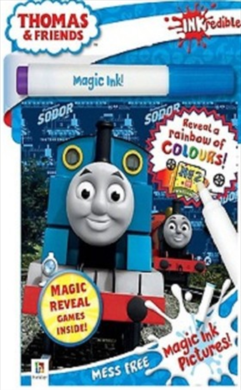 Inkredibles Magic Ink Thomas And Friends | Hardback Book