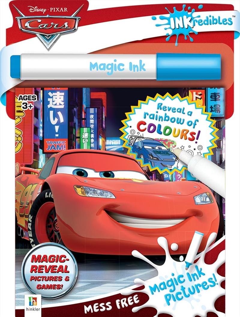 Inkredibles Cars Magic Ink Pictures | Hardback Book