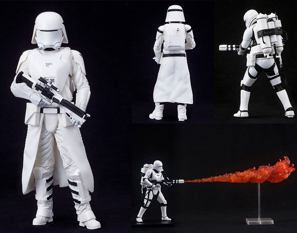 STAR WARS THE FORCE AWAKENS First Order Snowtrooper & Flametrooper ArtFX+ Statue | Merchandise