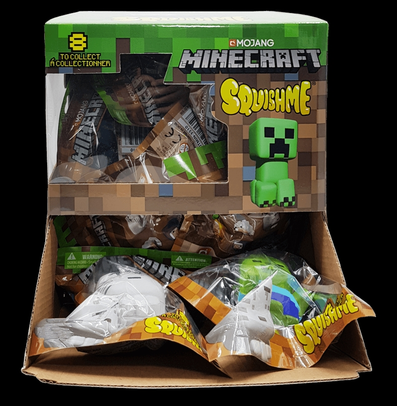 SQUISHME - Minecraft  (Random Select) | Toy