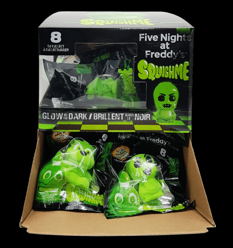 SQUISHME - Five Nights at Freddy's Glow in the Dark (Random Select) | Toy