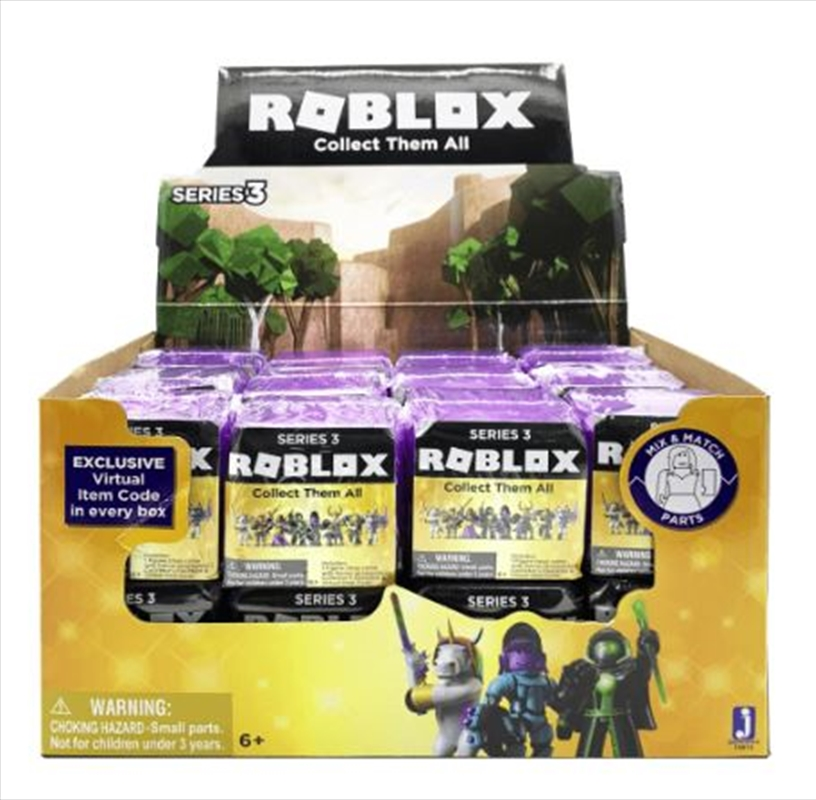 Roblox Mystery Box Series 3 - Roblox Celebrity Mystery Figures Series 3