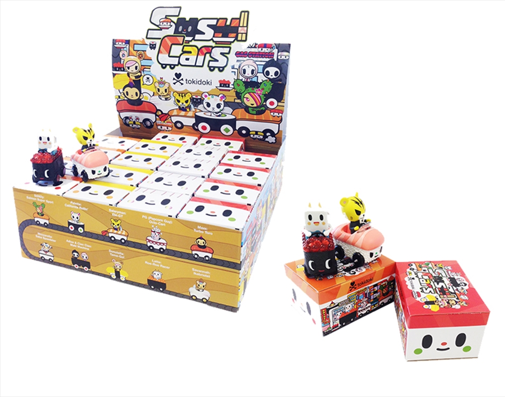 Sushi Cars Blind Box (Random Select) | Merchandise