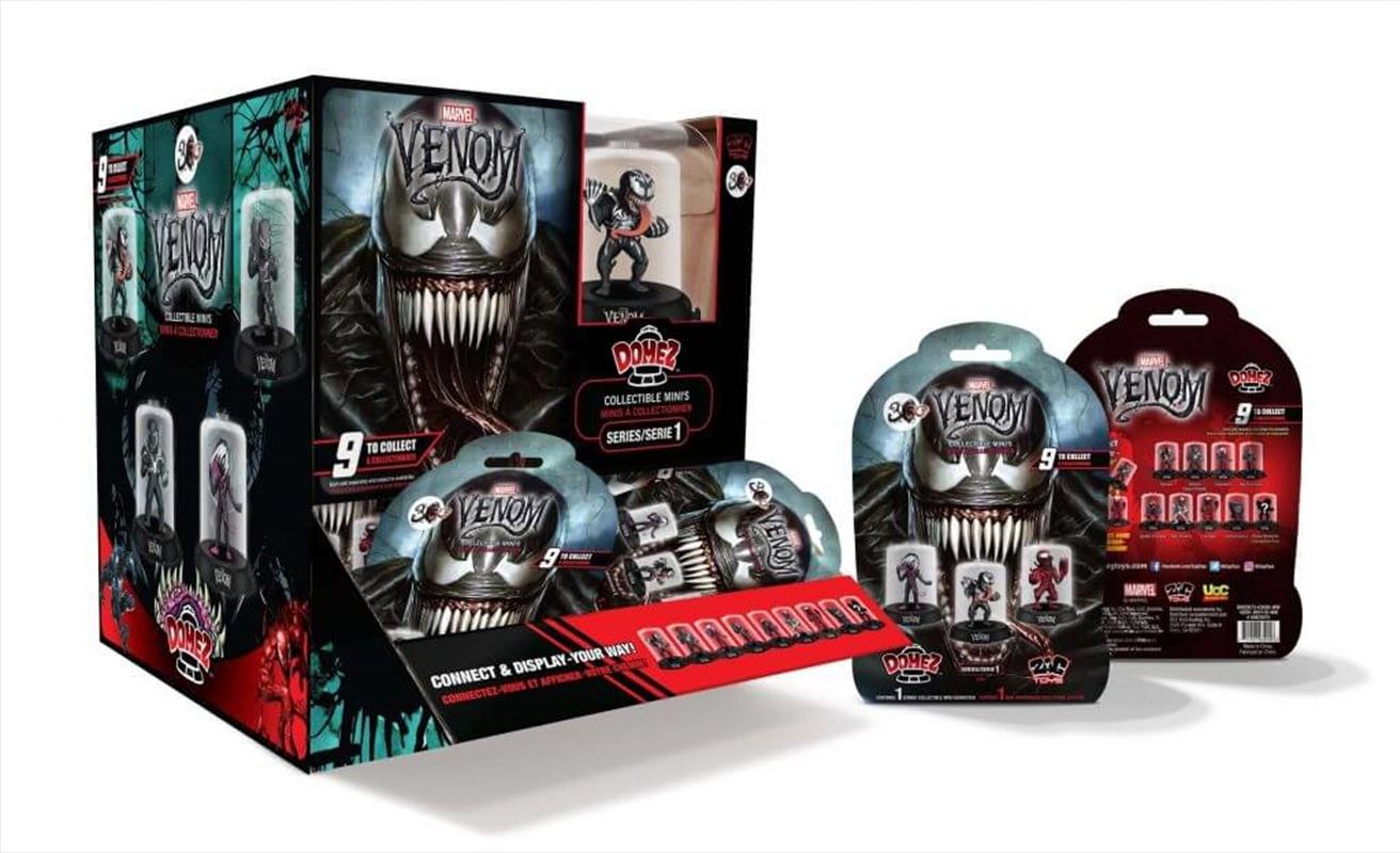 DOMEZ Marvel Venom Domez Series 1 (Random Select)   Merchandise