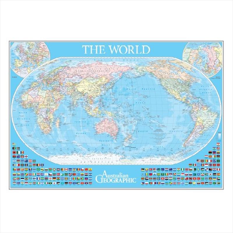 World Scratch Map Poster | Merchandise