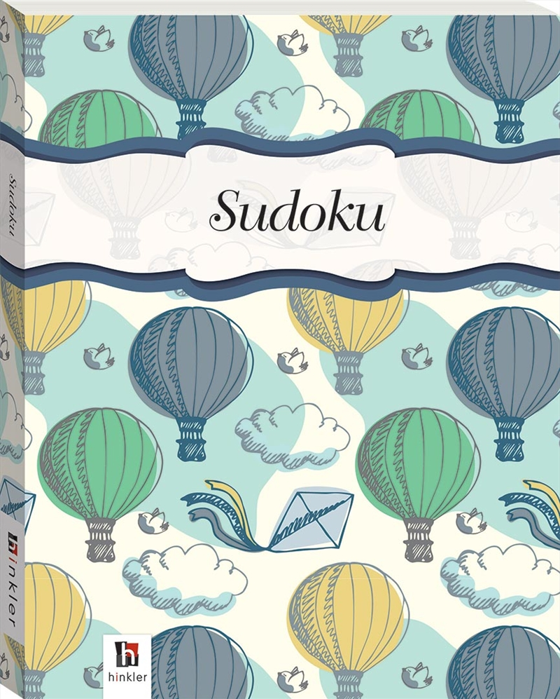 Perfect Puzzles Flexibound Sudoku Hot Air Balloons | Hardback Book