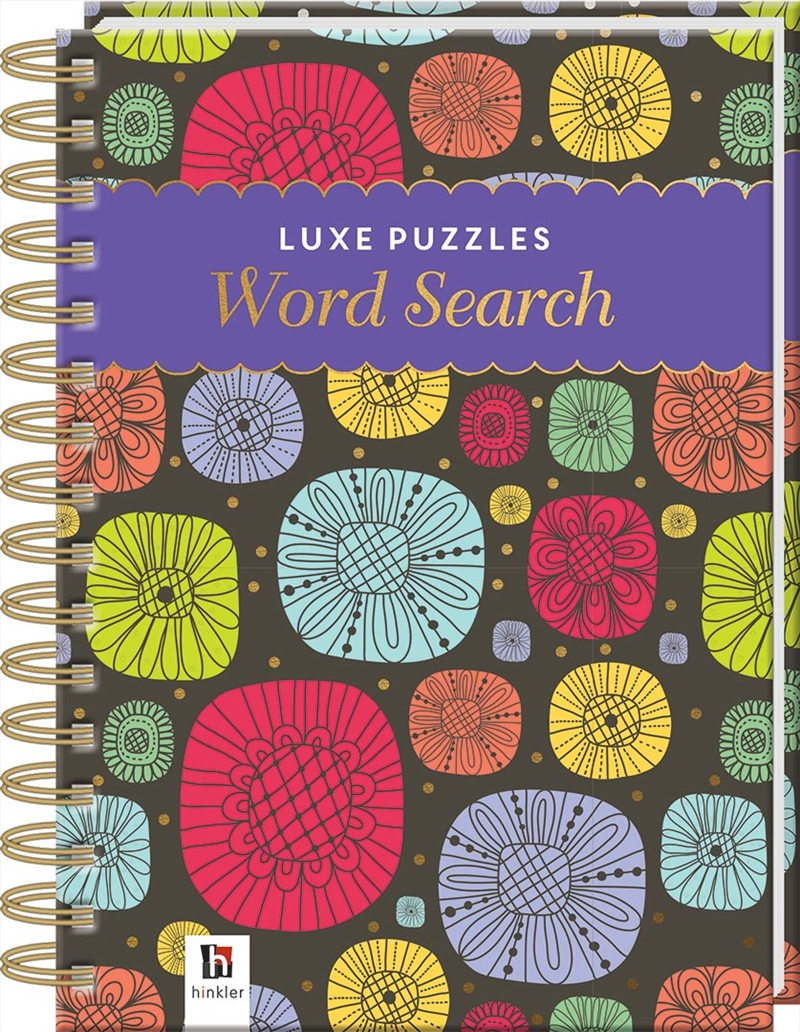Luxe Puzzle Book Word Search 2 | Hardback Book