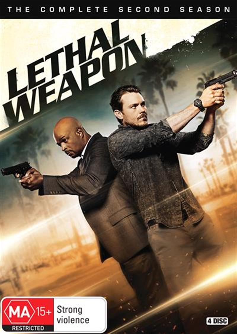 Lethal Weapon - Season 2   DVD