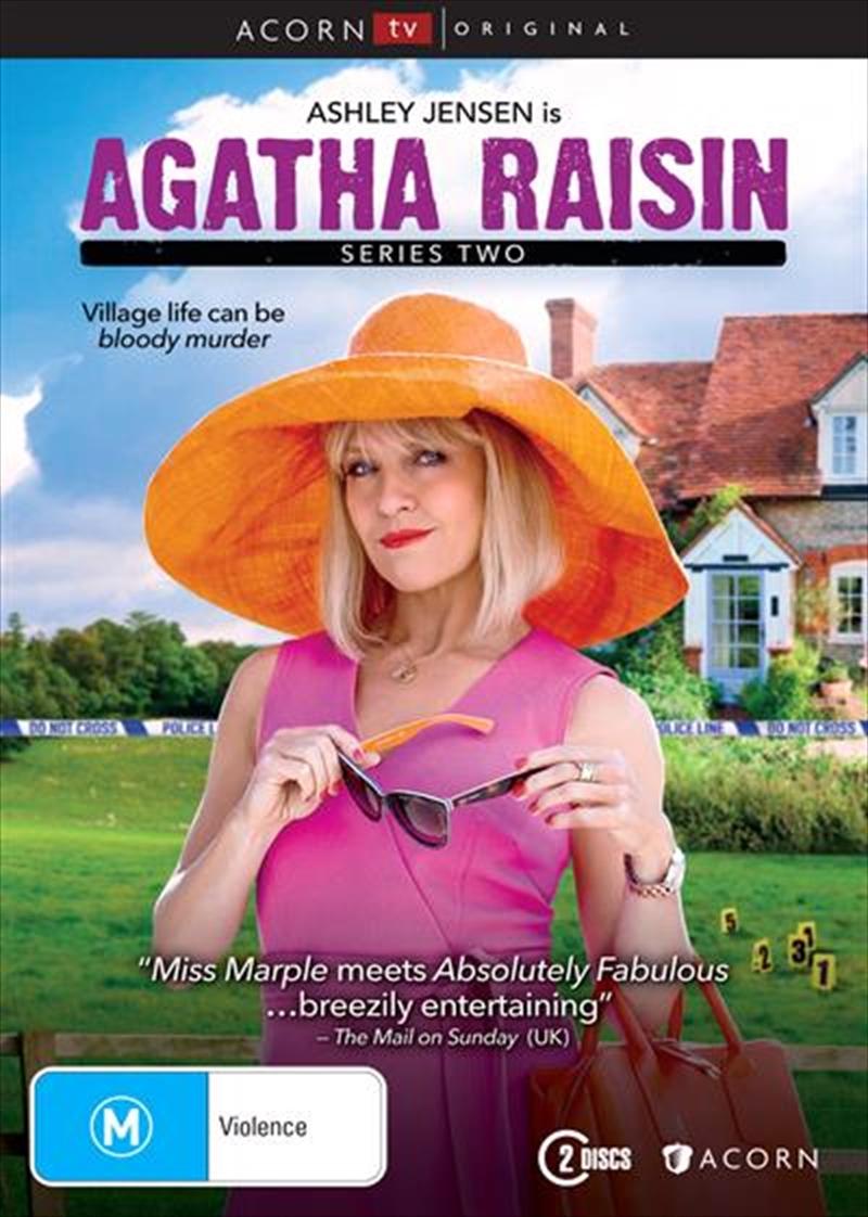 Agatha Raisin - Season 2   DVD