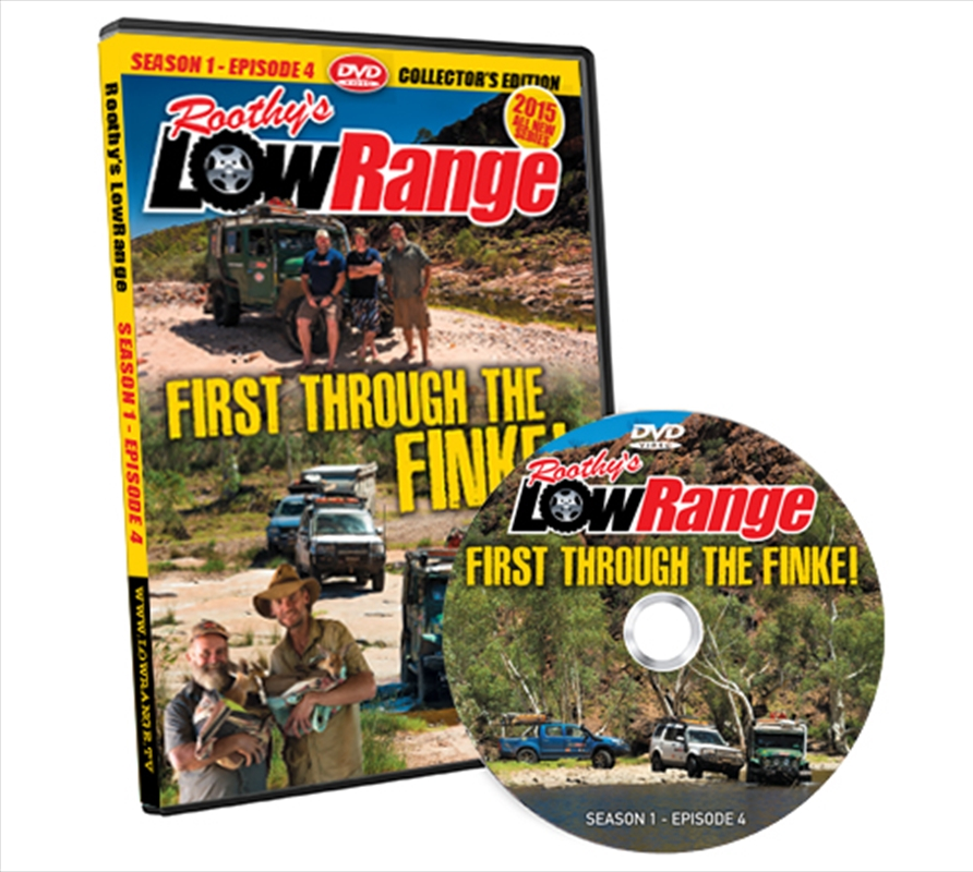 Lowrange: Season 1 E4 - First Through The Finke | Blu-ray