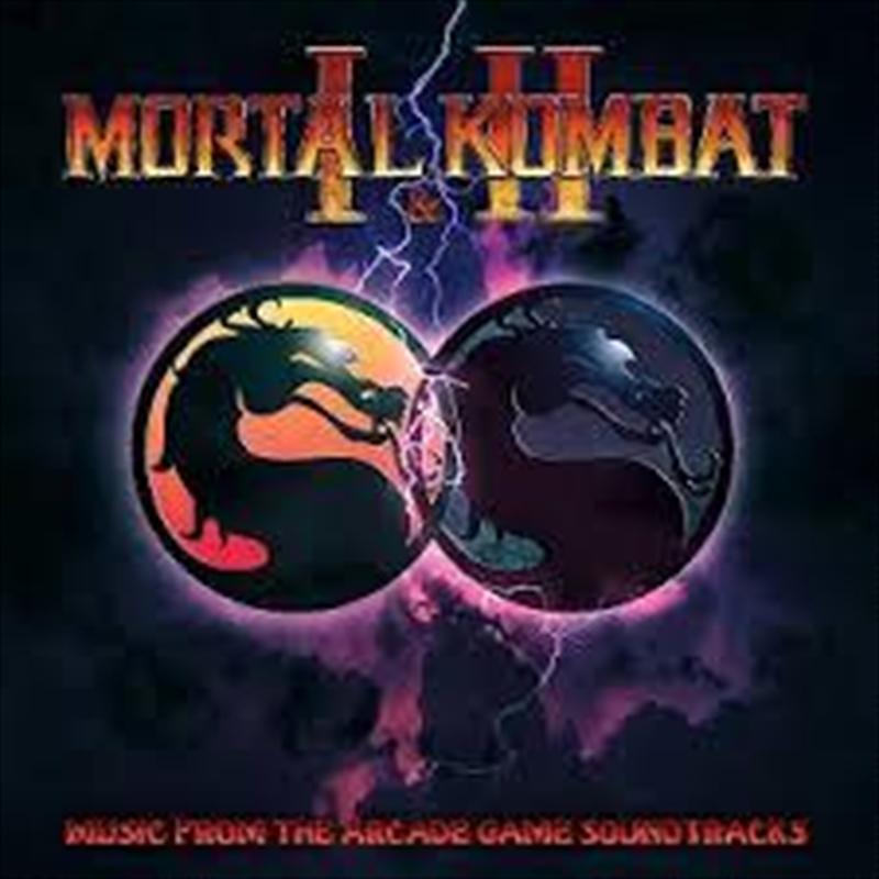 Mortal Kombat / Mortal Kombat 2 -  Colored Green And White Swirl Viny | Vinyl