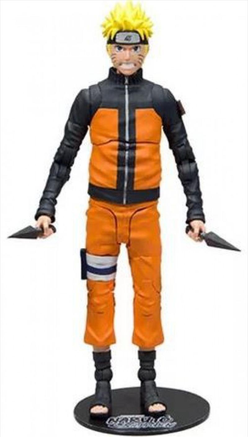 """Naruto Shippuden - Naruto #2 7"""" Action Figure   Merchandise"""
