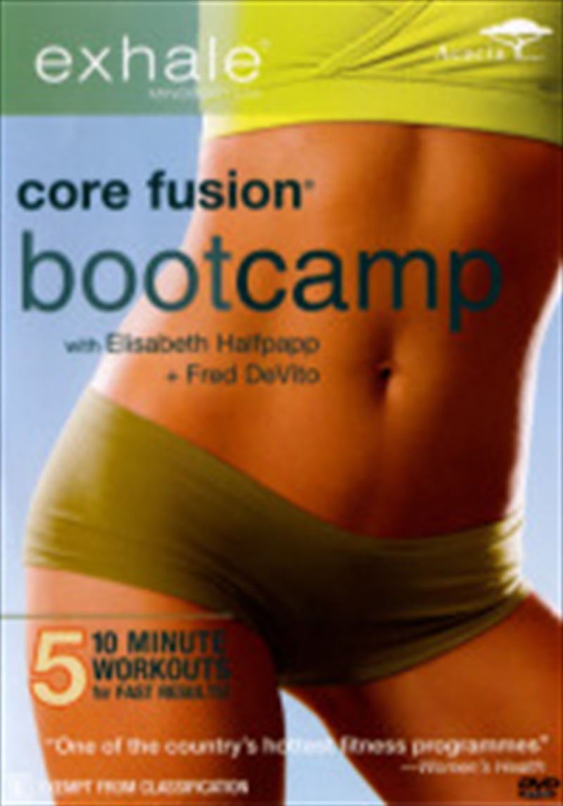 Exhale Core Fusion: Bootcamp | DVD