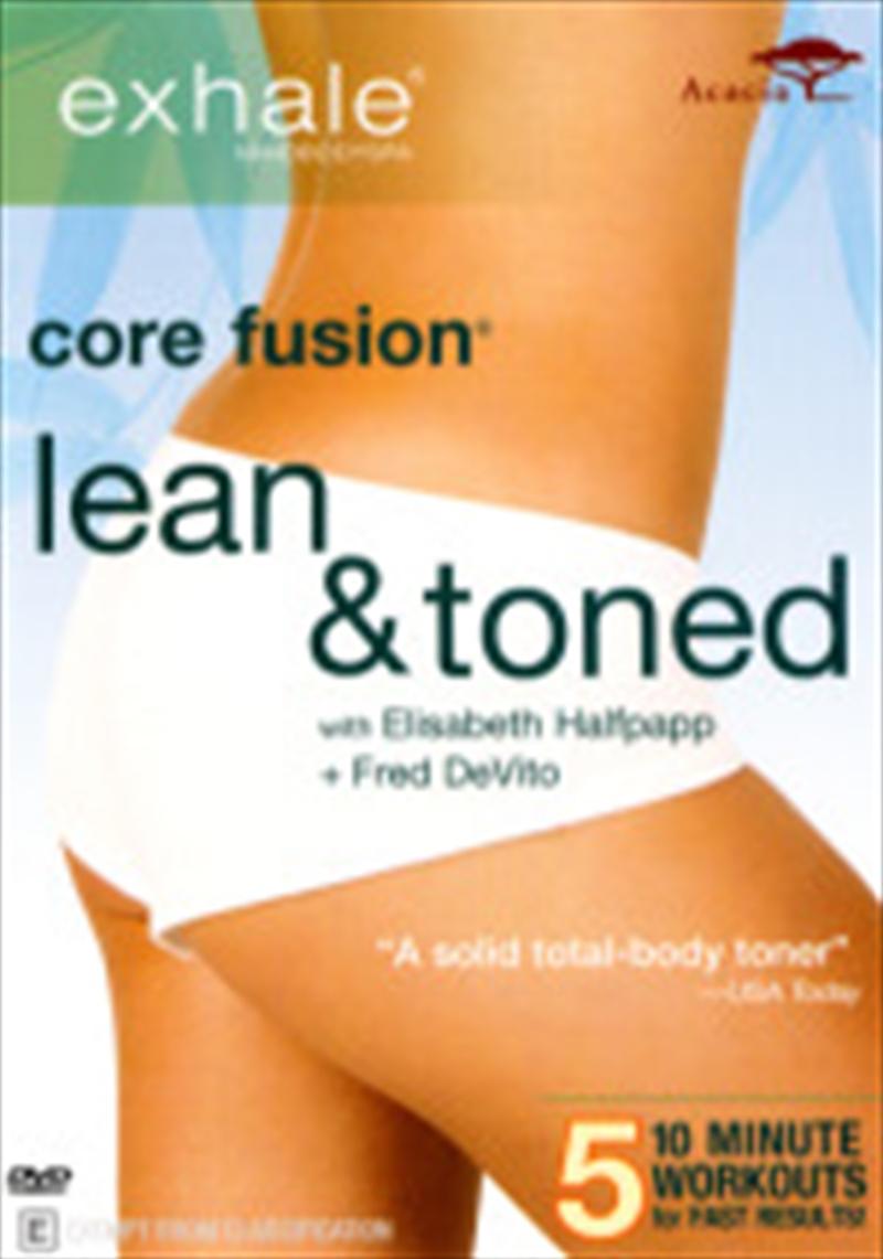 Exhale Core Fusion: Lean Toned | DVD