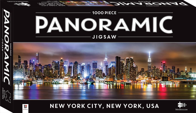 New York City, New York, USA 1000 Piece Panoramic Jigsaw Puzzle | Merchandise