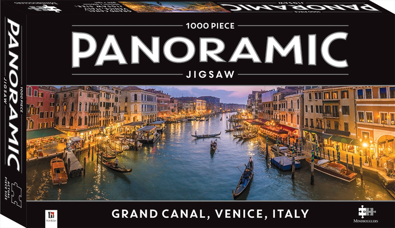 Grand Canal, Venice, Italy 1000 Piece Panoramic Jigsaw Puzzle   Merchandise
