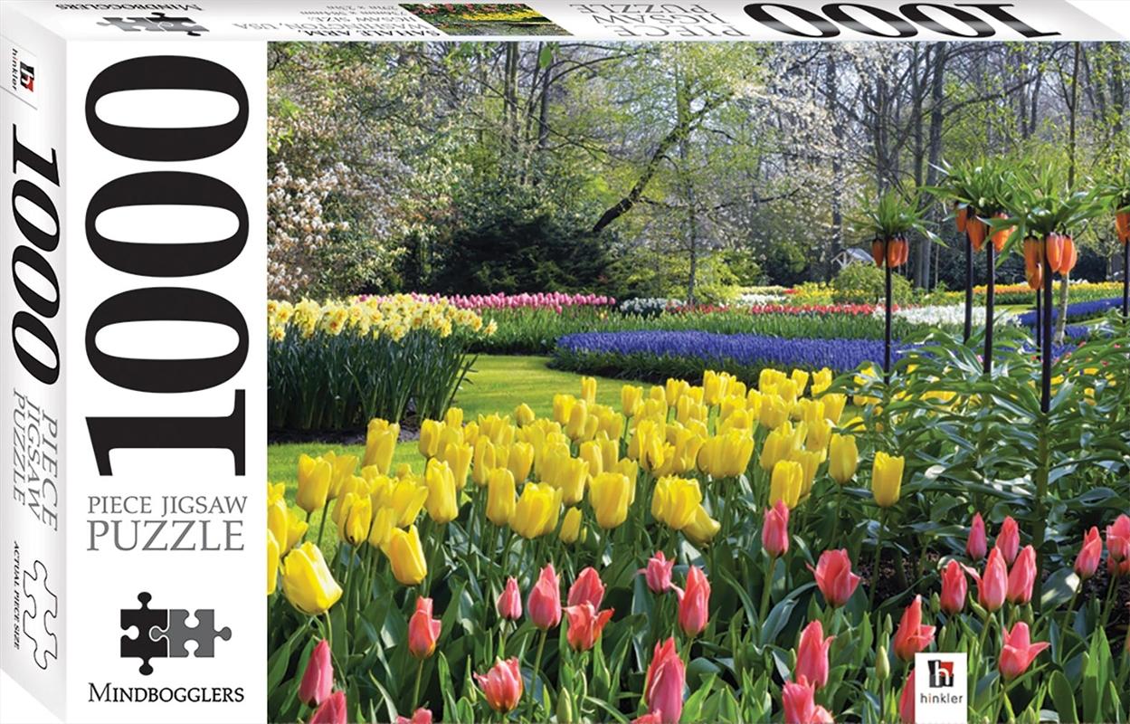 Keukenhof Gardens 1000 Piece Jigsaw | Merchandise