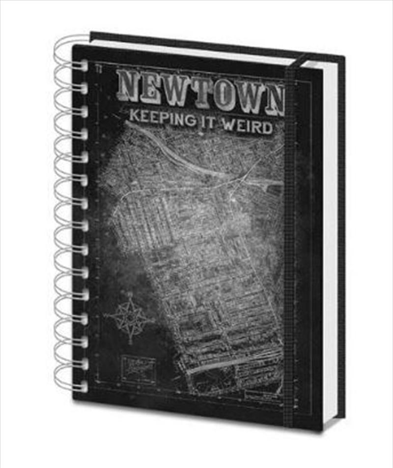 Newtown - Map A5 | Merchandise