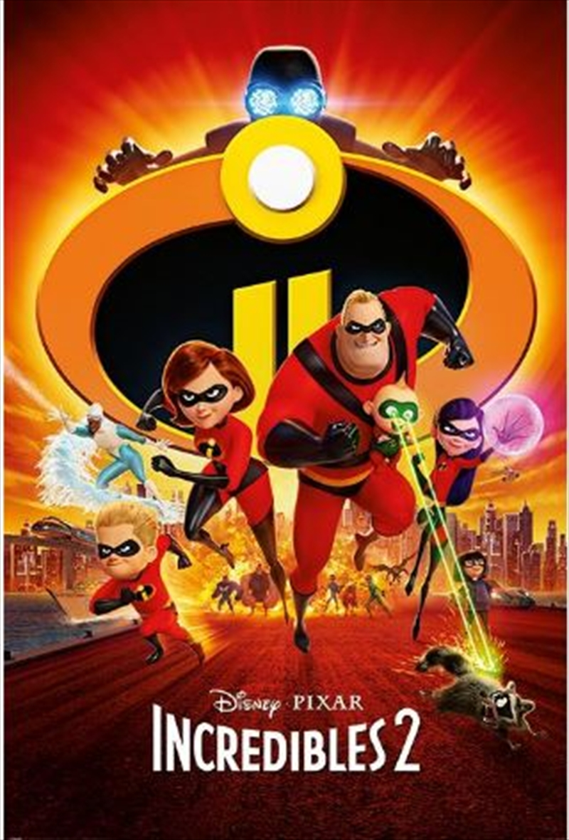 Incredibles 2 - One Sheet Poster | Merchandise