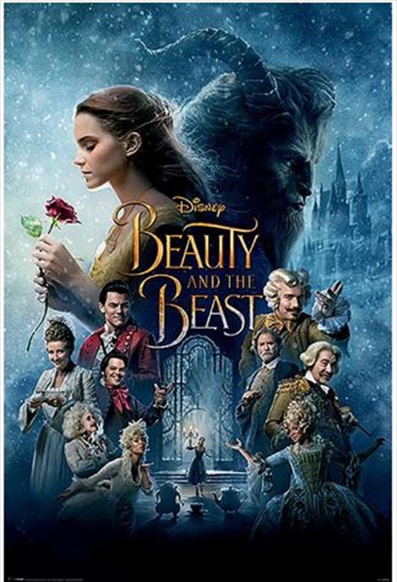 Beauty And The Beast - Transformation Poster | Merchandise