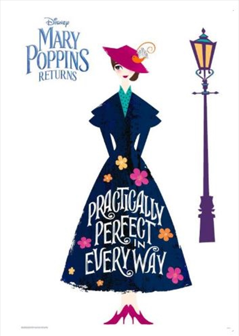 Mary Poppins Returns - Practically Perfect Poster | Merchandise