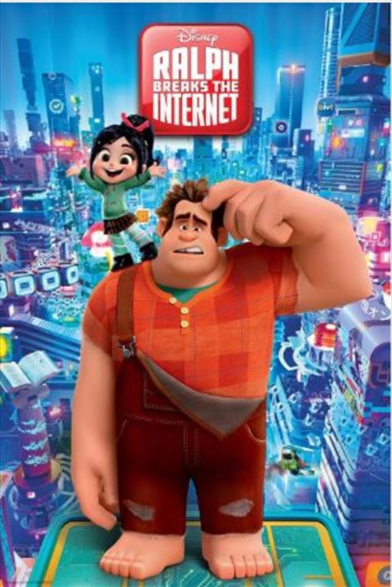 Wreck It Ralph 2 - Internet City Poster | Merchandise