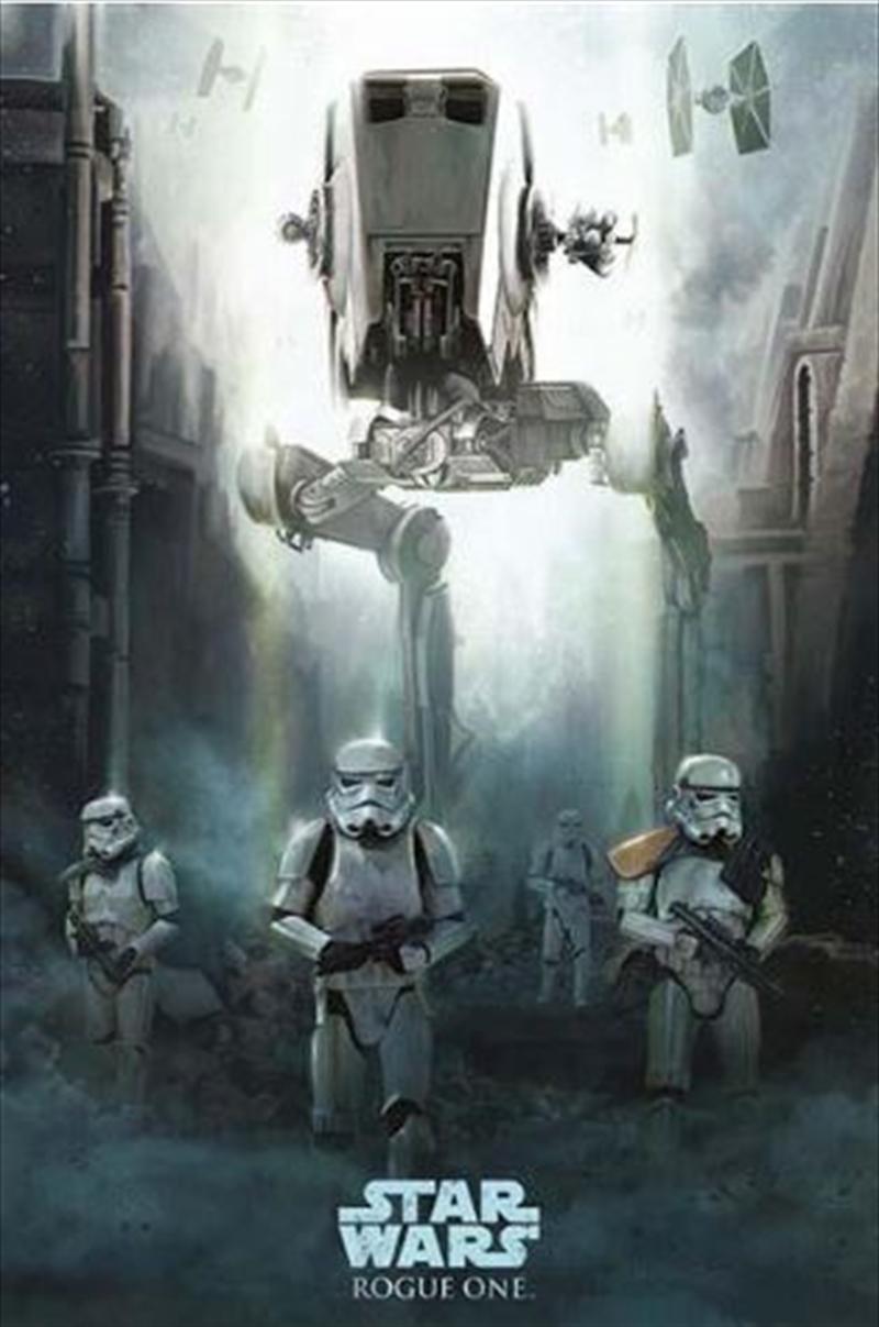 Star Wars Rogue One - Stormtrooper Patrol Poster | Merchandise