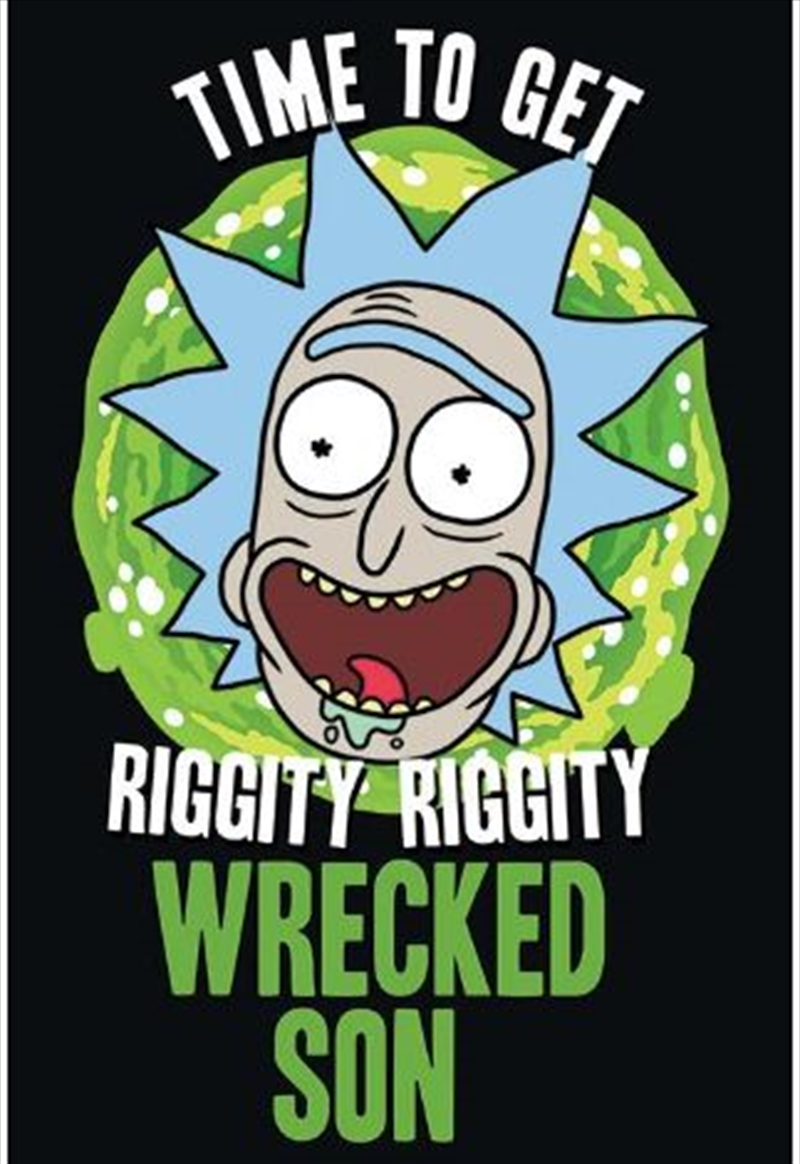 Rick And Morty - Wrecked Son Poster | Merchandise