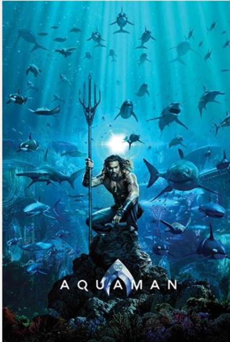 Aquaman - Teaser Poster | Merchandise