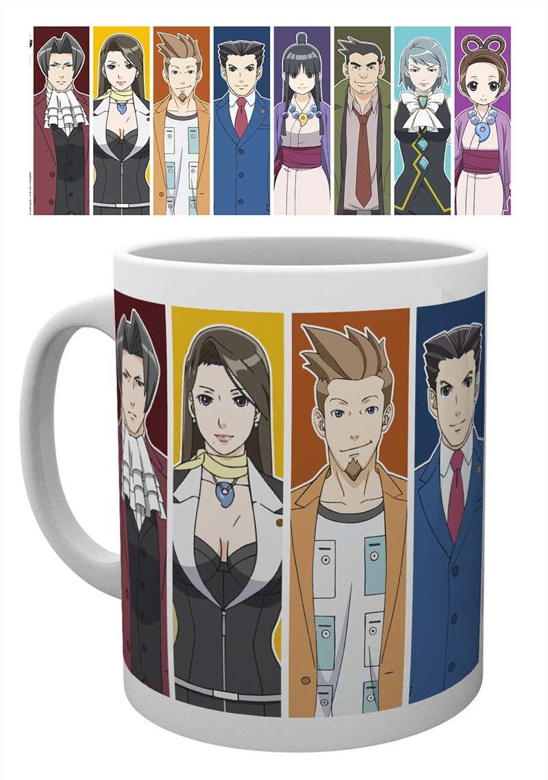 Ace Attorney - Characters Mug   Merchandise