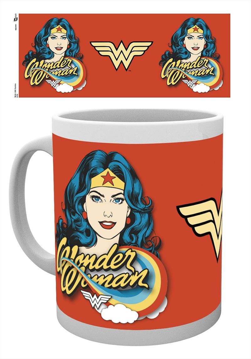 DC Comics - Wonder Woman Face | Merchandise
