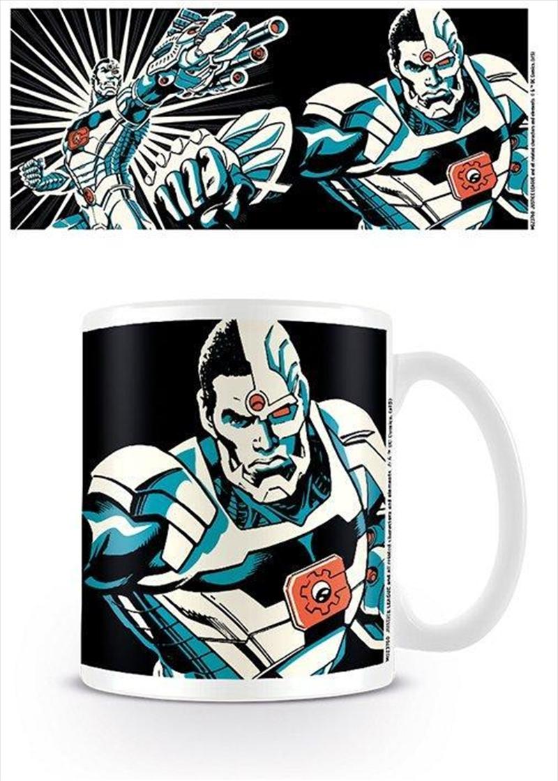 DC Comics - Justice League Cyborg Colour | Merchandise