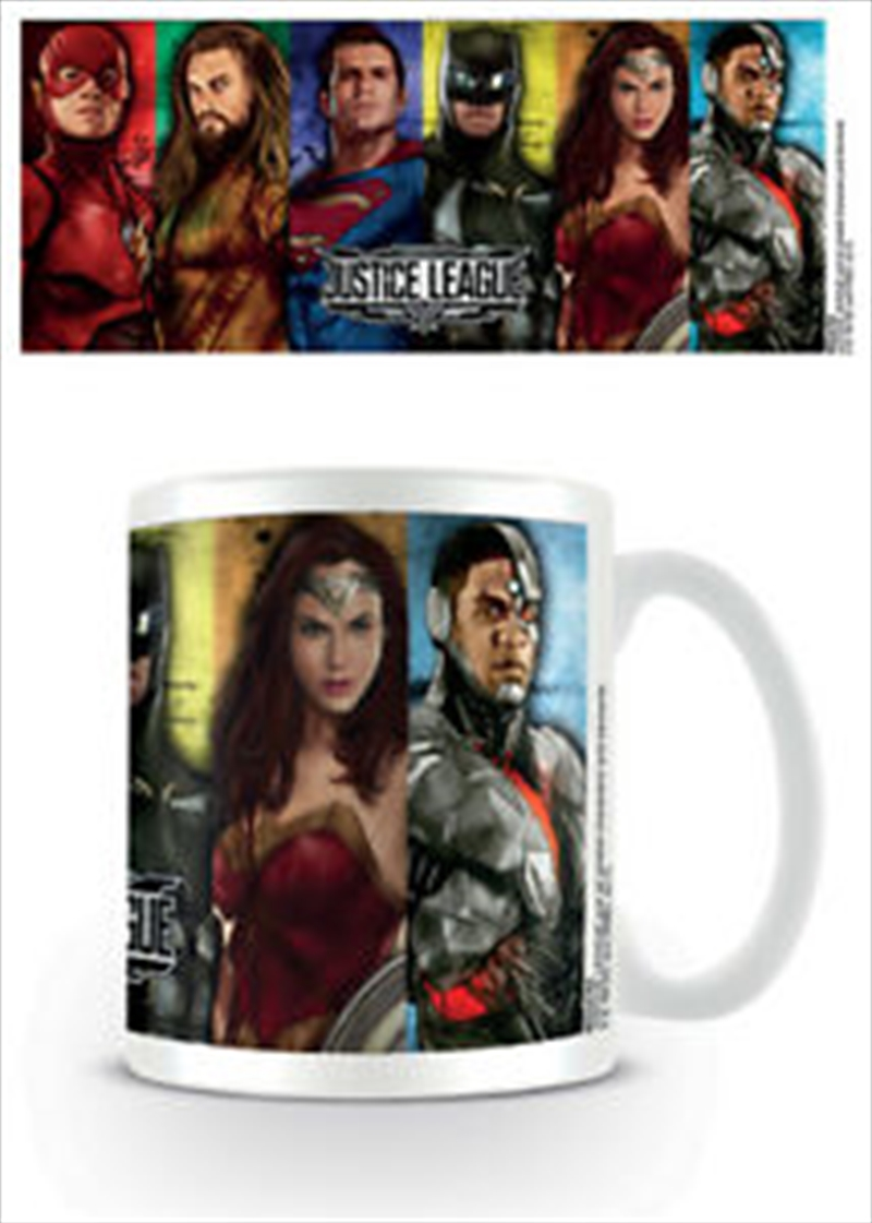 Justice League - Hero Stripes | Merchandise