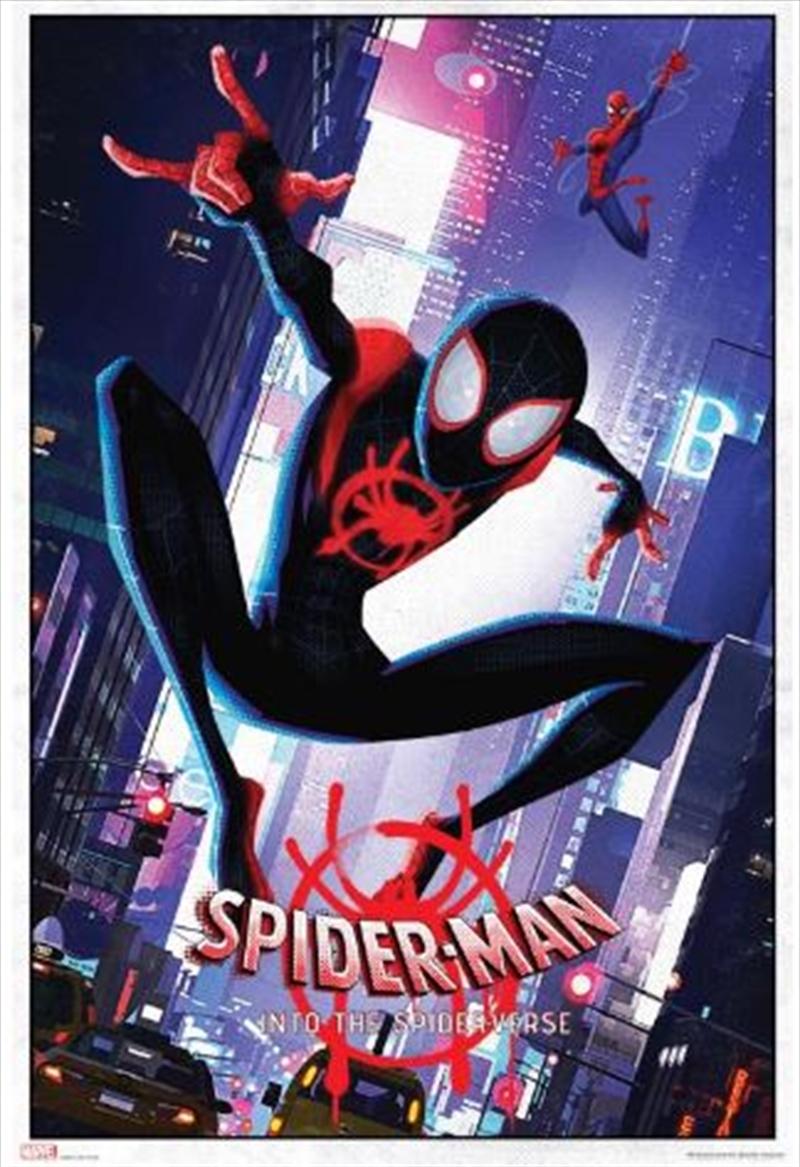 Marvel Spiderverse - Swinging Poster | Merchandise