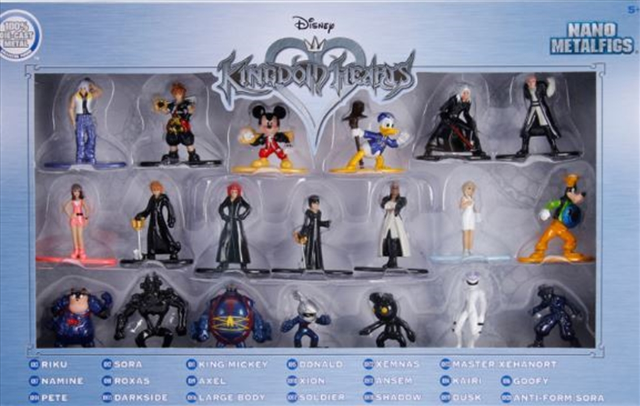 Kingdom Hearts - Nano Metalfigs 20 Pack | Merchandise