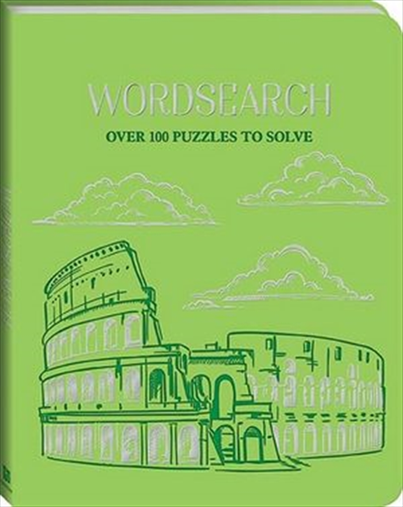 Deluxe Leather Puzzles Wordsearch | Hardback Book