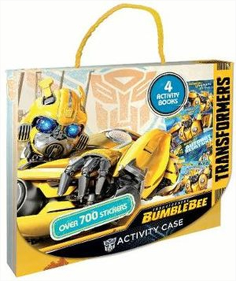 Transformers Bumblebee Activity Case | Paperback Book
