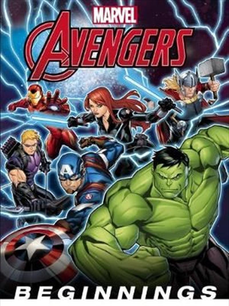 Marvel: The Avengers Beginnings | Hardback Book