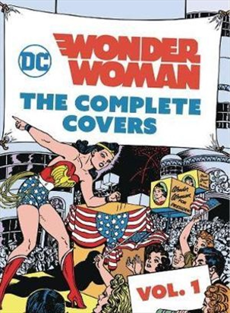 DC Comics Wonder Woman : The Complete Covers Vol. 1 - MINIATURE EDITION   Hardback Book