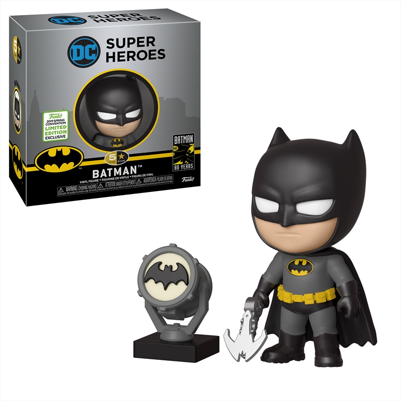 Batman: Black & Yellow 5 Star ECCC 2019 RS | Merchandise