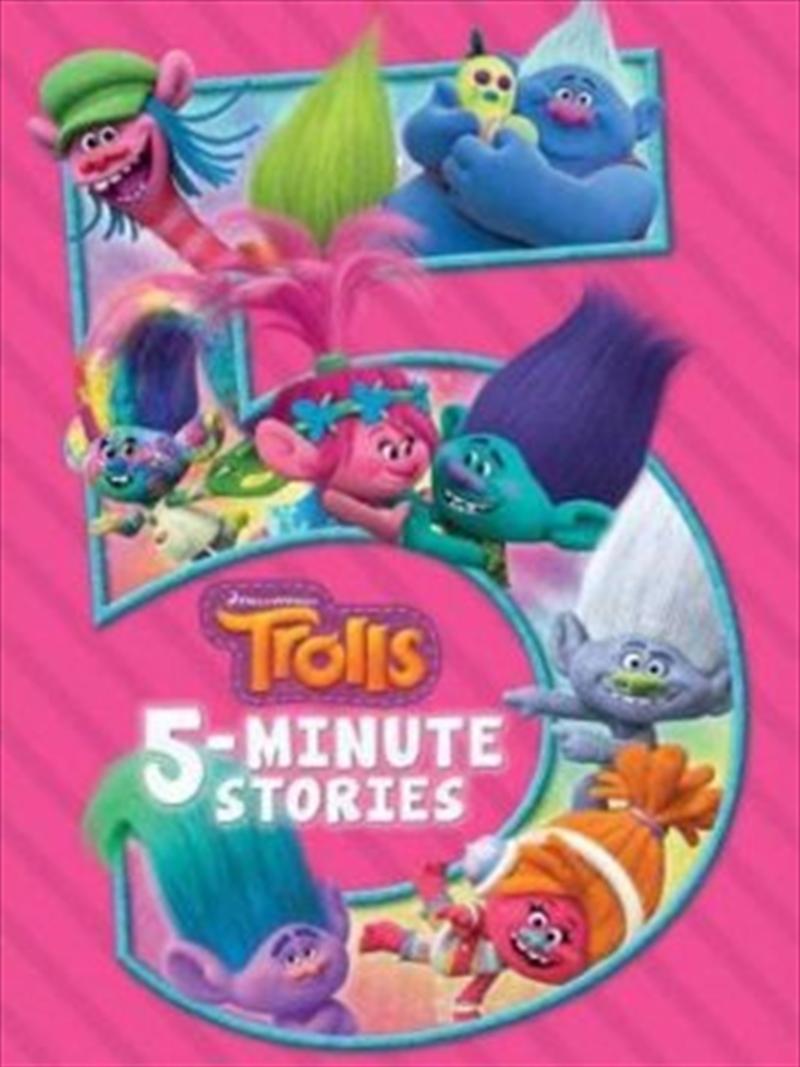 Trolls: 5 Minute Stories | Hardback Book