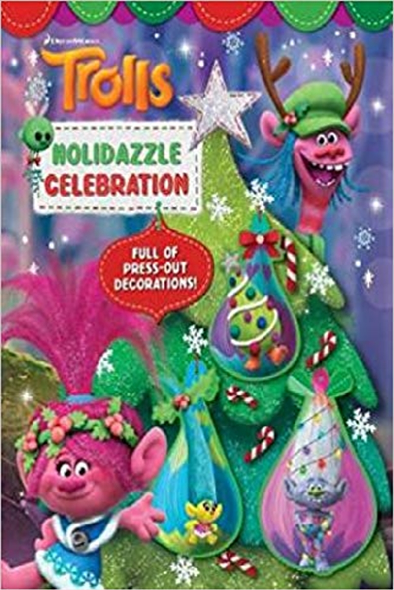 Trolls Holidazzle Celebration | Paperback Book