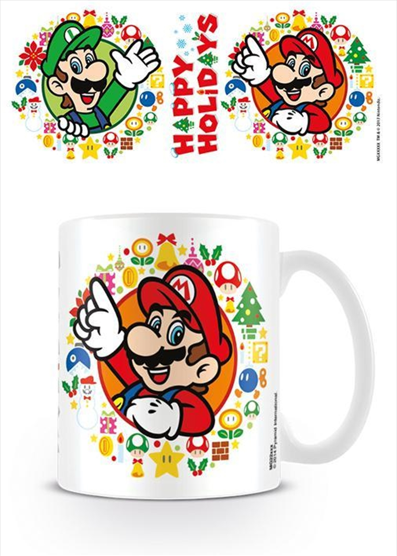 Super Mario - Happy Holidays | Merchandise
